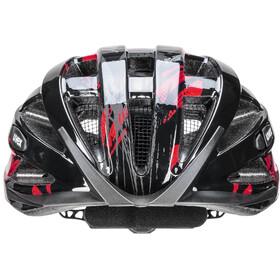 UVEX Air Wing Helm Kinder black red
